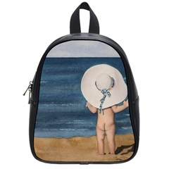 Mom s White Hat School Bag (small)