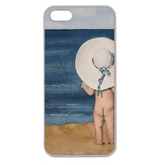 Mom s White Hat Apple Seamless Iphone 5 Case (clear)