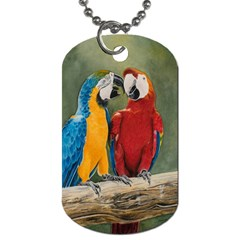 Feathered Friends Dog Tag (one Sided) by TonyaButcher