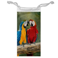 Feathered Friends Jewelry Bag by TonyaButcher