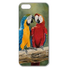 Feathered Friends Apple Seamless Iphone 5 Case (clear)
