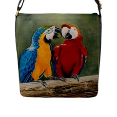 Feathered Friends Flap Closure Messenger Bag (large)