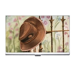 Hat On The Fence Business Card Holder by TonyaButcher