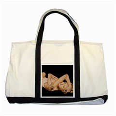 Gentle Embrace Two Toned Tote Bag by TonyaButcher