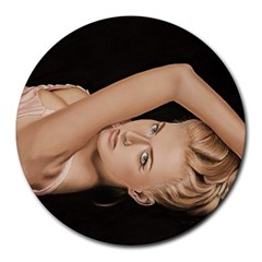 Alluring 8  Mouse Pad (Round)