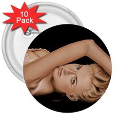 Alluring 3  Button (10 pack)
