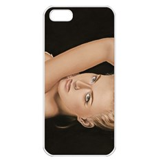 Alluring Apple iPhone 5 Seamless Case (White)