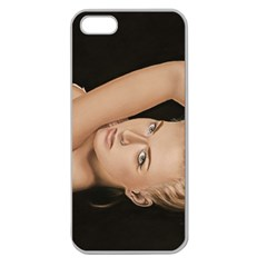 Alluring Apple Seamless iPhone 5 Case (Clear)