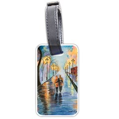 Just The Two Of Us Luggage Tag (one Side) by TonyaButcher