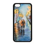 Just The Two Of Us Apple iPhone 5C Seamless Case (Black) Front