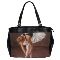 Ballerina Oversize Office Handbag (two Sides) by TonyaButcher