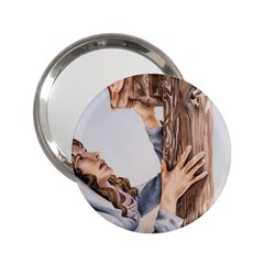 Stabat Mater Handbag Mirror (2 25 ) by TonyaButcher