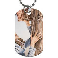 Stabat Mater Dog Tag (one Sided) by TonyaButcher