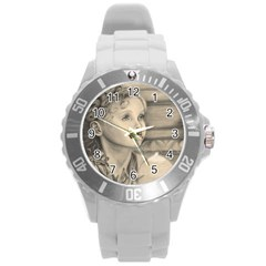 Light1 Plastic Sport Watch (large) by TonyaButcher