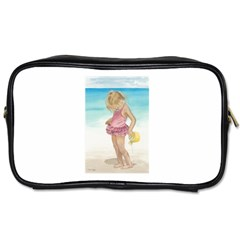 Beach Play Sm Travel Toiletry Bag (two Sides) by TonyaButcher