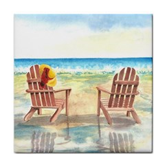 Time To Relax Ceramic Tile by TonyaButcher