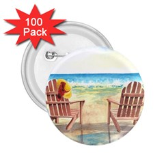Time To Relax 2 25  Button (100 Pack) by TonyaButcher