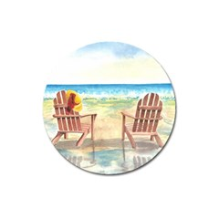 Time To Relax Magnet 3  (round) by TonyaButcher