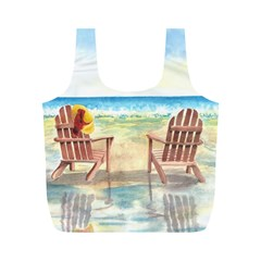 Time To Relax Reusable Bag (m) by TonyaButcher