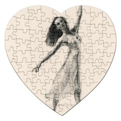 Perfect Grace Jigsaw Puzzle (heart) by TonyaButcher