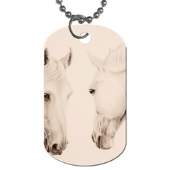 Tender Approach  Dog Tag (one Sided) by TonyaButcher