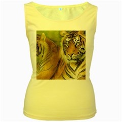 Soft Protection Women s Tank Top (yellow)
