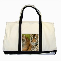 Soft Protection Two Toned Tote Bag