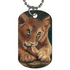 Playful  Dog Tag (two Sided)  by TonyaButcher