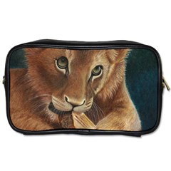 Playful  Travel Toiletry Bag (two Sides) by TonyaButcher