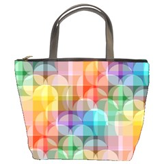Circles Bucket Handbag by Lalita
