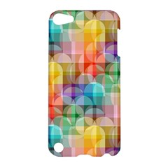 Circles Apple Ipod Touch 5 Hardshell Case by Lalita