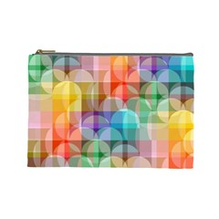 Circles Cosmetic Bag (large) by Lalita