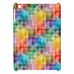 Circles Apple Ipad Mini Hardshell Case by Lalita