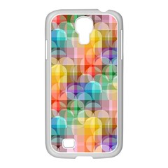Circles Samsung Galaxy S4 I9500/ I9505 Case (white)