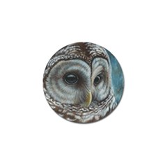 Barred Owl Golf Ball Marker 10 Pack by TonyaButcher
