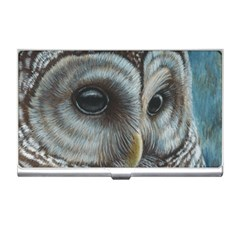 Barred Owl Business Card Holder by TonyaButcher