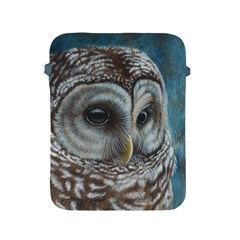 Barred Owl Apple Ipad Protective Sleeve by TonyaButcher