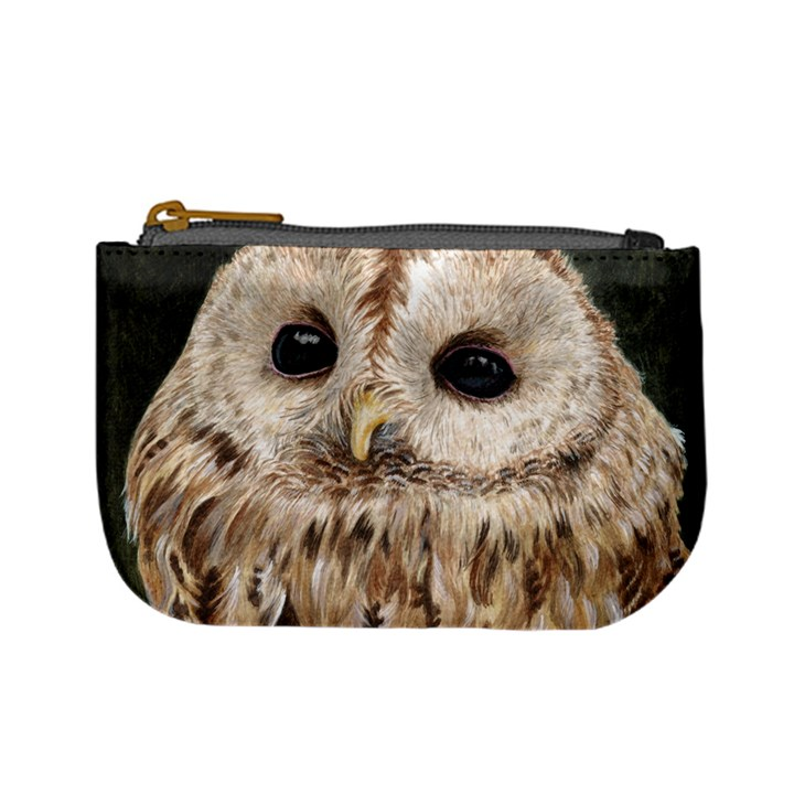 Tawny Owl Coin Change Purse