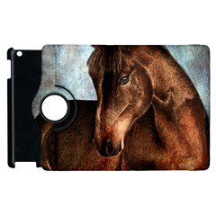 Midnight Jewel  Apple Ipad 3/4 Flip 360 Case