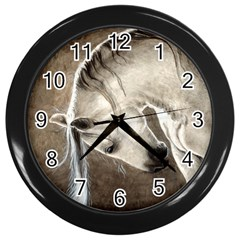Humble Wall Clock (black) by TonyaButcher