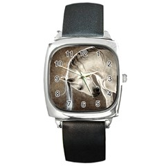Humble Square Leather Watch