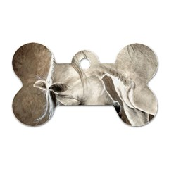 Humble Dog Tag Bone (two Sided) by TonyaButcher