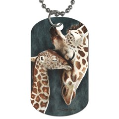 A Mother s Love Dog Tag (one Sided) by TonyaButcher