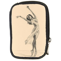 Graceful Dancer Compact Camera Leather Case by TonyaButcher