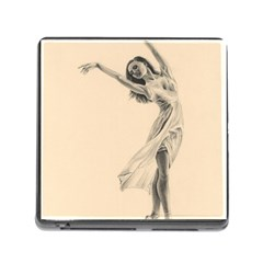 Graceful Dancer Memory Card Reader With Storage (square) by TonyaButcher