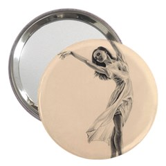 Graceful Dancer 3  Handbag Mirror by TonyaButcher