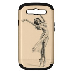 Graceful Dancer Samsung Galaxy S Iii Hardshell Case (pc+silicone) by TonyaButcher