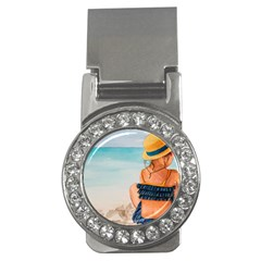 A Day At The Beach Money Clip (cz)