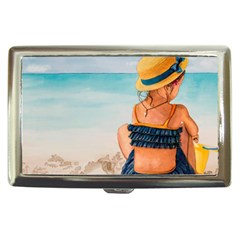 A Day At The Beach Cigarette Money Case by TonyaButcher