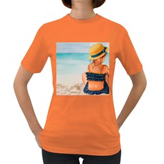 A Day At The Beach Women s T Shirt (colored) by TonyaButcher